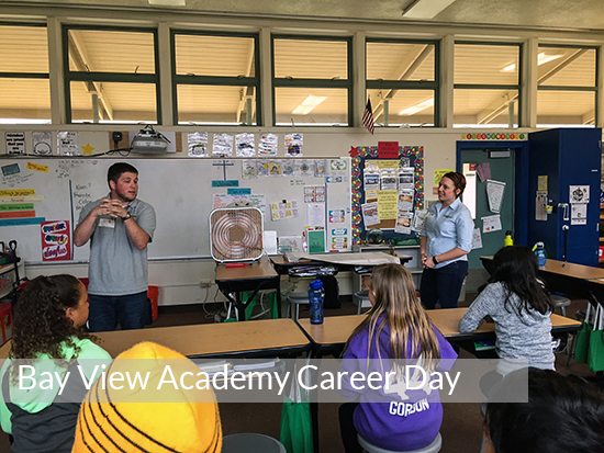 Bay View Academy Career Day